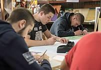 Delavnica ilustriranja v Prevzgojnem domu Radeče, mentor David Krančan