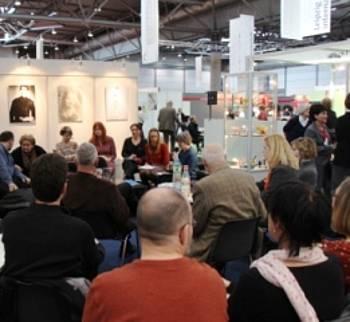Predstavitev avtorjev na leipziškem knjižnem sejmu 2014