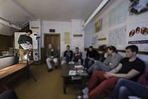 Usposabljanje ViA v TS Sostro 2017, gost Jure Engelsberger, foto: Jana Jocif