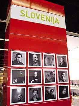 Predstavitev slovenskih avtorjev na knjižnem sejmu v Frankfurtu 2010