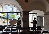 Fotografska razstava ViA utrinkov v Mestnem muzej Ljubljana, foto: Miha Marinč