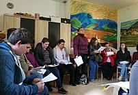 Prireditev projekta ViA v Društvu Novi paradoks v enoti Senožeti