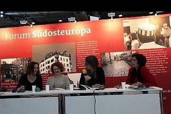 Predstavitev prevodov v seriji Tradukita poesio na knjižnem sejmu v Leipzigu 2014