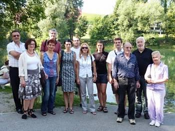 Udeleženci prevajalskega seminarja 2010