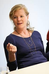 Johanna Höhmann, dramaturg in the Munich theatre Kammerspiele.