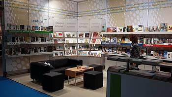 Slovenska stojnica na knjižnem sejmu v Frankfurtu 2016