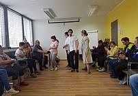 Mojca Partljič na obisku v VDC Polž