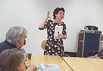 Vesna Radovanovič na obisku v VDC Polž
