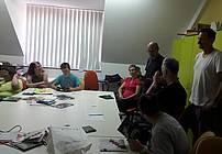 Udeleženci delavnice v Dobrni
