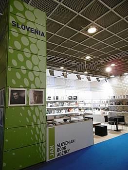 Predstavitev slovenskih avtorjev in njihovih del na frankfurtskem sejmu 2014