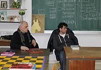 Mentor usposabljanja ViA v ZPKZ MB, Orlando Uršič in gost Feri Lainšček