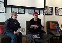 Nevenka Kos in Aksinja Kermauner