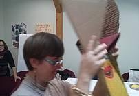 Maske po motivih iz knjige Ropotarna