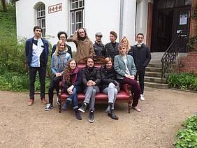 Udeleženci 15. Evropskega festivala romanesknih prvencev 2017 v Kielu