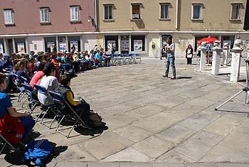 Žiga Gombač v Kopru