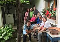 Skupina ViA SVZ Dutovlje z Josipom Ostijem