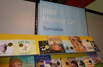Častna lista IBBY na knjižnem sejmu v Bologni 2013