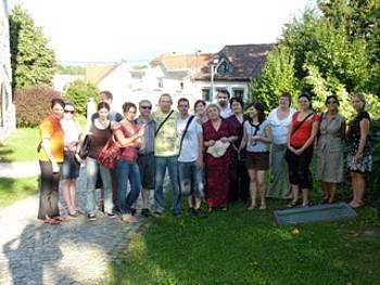 Udeleženci prevajalskega seminarja 2011