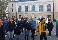 Ekskurzija ViA skupine iz VDC Polž v Ljubljano