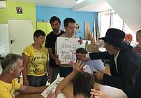 Brane Grubar na obisku v Dobrni