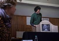 Mentorica projekta ViA Nataša Konc Lorenzutti z gostom Juretom Engelsbergerjem, Zavod Pelikan-Karitas-TS Sostro