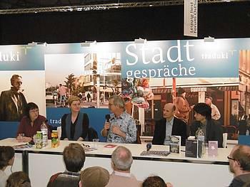 Dušan Šarotar na knjižnem sejmu v Leipzigu 2015