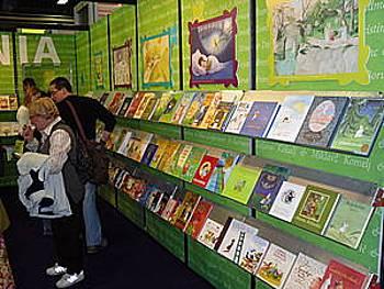 Slovenska stojnica na knjižnem sejmu v Bologni 2009