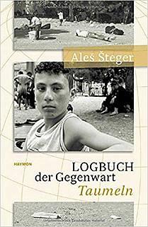 Aleš Šteger: Logbuch, naslovnica
