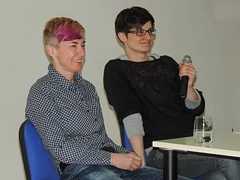 Srečanje pisateljice Suzane Tratnik z dijaki Gimnazije Jurija Vege