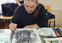 Ilustratorski modul z Anjo Jerčič Jakob v SVZ Hrastovec 2019