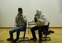 Trkaj in Igor Saksida v Vzgojnem zavodu Planina