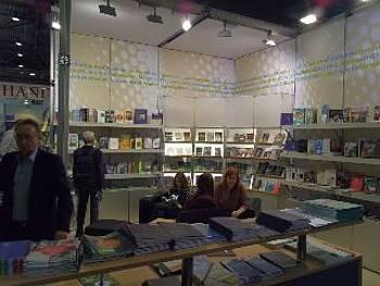 Slovenska stojnica na knjižnem sejmu v Leipzigu 2014