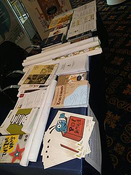 Razstava Pot knjige na srečanju ravnateljev OŠ v Portorožu
