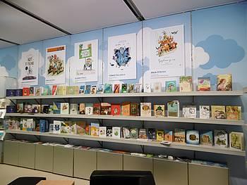 Slovenska stojnica na knjižnem sejmu v Bologni 2015