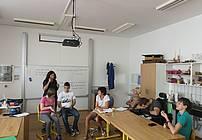 Skupina ViA V CIRIUS Kamnik, z mentorico Neli Filipić in gostjo Simono Semenič