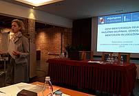 Nataša Konc Lorenzutti na seminarju za mentorje ViA 2018