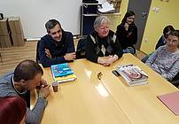 Obisk Nina Flisarja v VDC Polž
