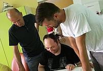 Dušan, Franci in Silvo