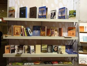 Predstavitev slovenskih literarnih del na knjižnem sejmu v Frankfurtu 2012
