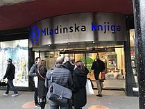 Obisk knjigarne Konzorcij MK