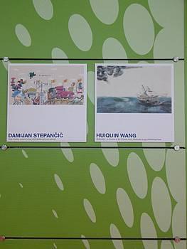 Predstavitev slovenskih ilustratorjev na knjižnem sejmu v Bologni 2015