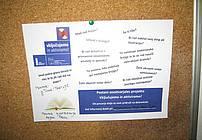 Plakat ViA na oglasni deski ZPKZ Maribor