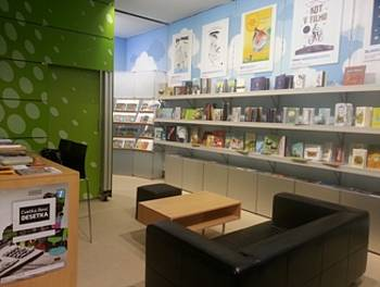 Slovenska stojnica na bolonjskem knjižnem sejmu 2014