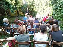 Pogovor z Matthiasom Göritzem, moderatorka Tanja Petrič