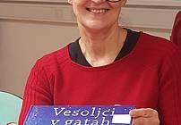 Jana Kolarič na obisku v CUDV Radovljica