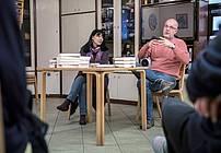 Usposabljanje ViA v Društvu Projekt Človek z mentorico Cvetko Bevc in gostom Lenartom Zajcem