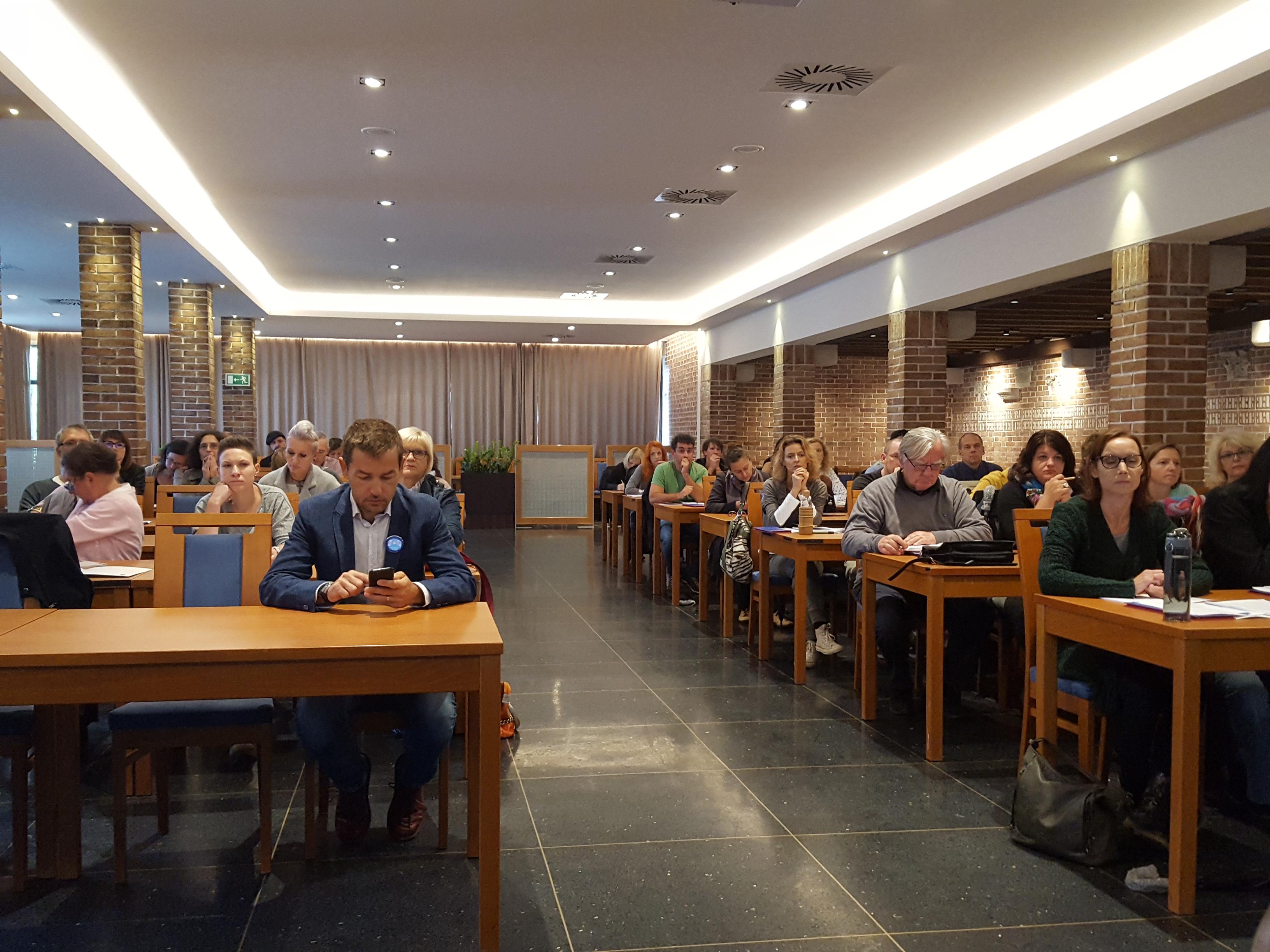 Slušatelji seminarja za mentorje ViA 2018 v Ankaranu