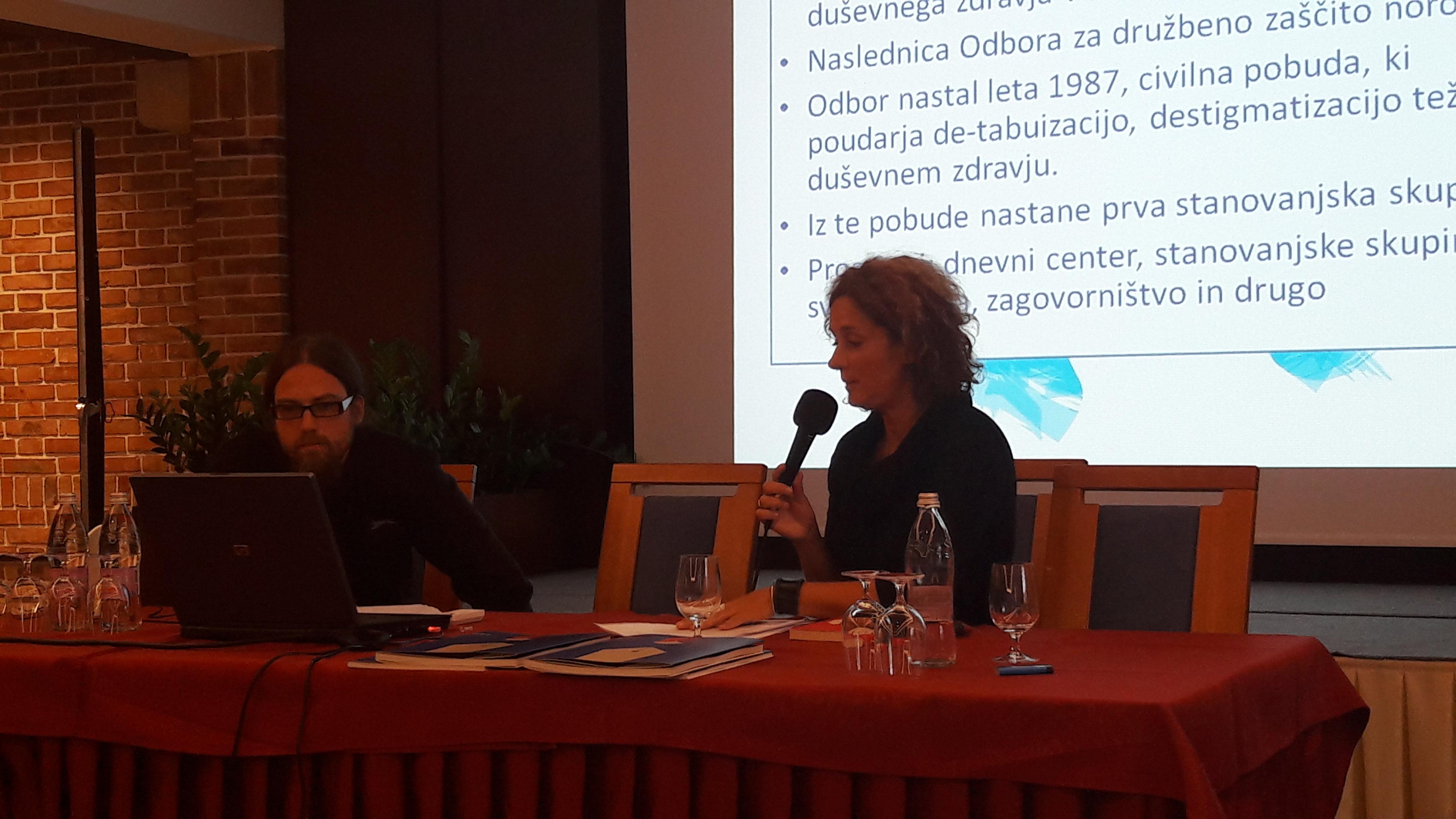 Andreja Vučak na seminarju za mentorje ViA 2018