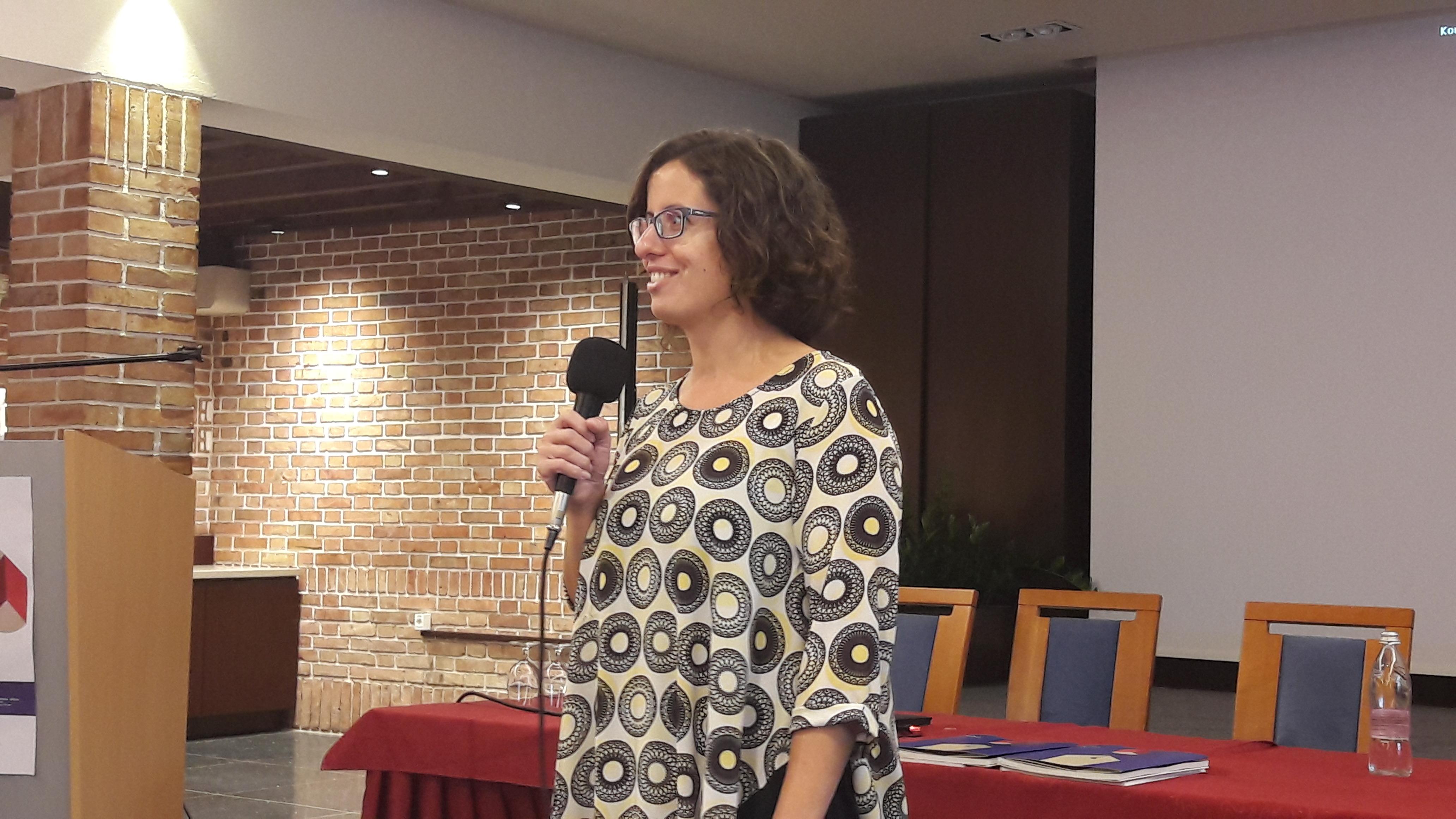 Melita Zver Makovec na seminarju za mentorje ViA 2018