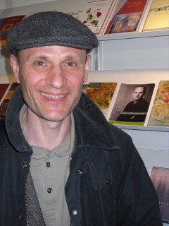 Dušan Šarotar na knjižnem sejmu v Budimpešti 2011